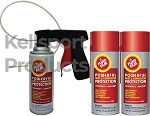Fluid Film  Spray Can Undercoating Kits.  You choose.  3 can, 6 can, or 12 can.