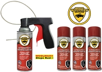 Woolwax® Spray Can Undercoating Kits.  You choose.  4 can, 6 can, or 12 can.