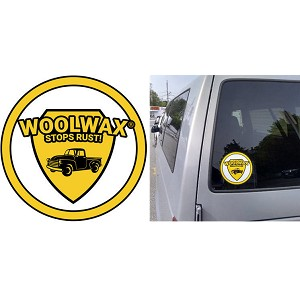 "Woolwax Decal 6"".  Only $2 ea.  or 3 for $5"