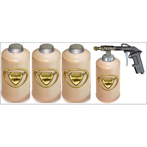 Woolwax® Undercoat Kit 4 Quarts / PRO GUN with (2) Extension wands