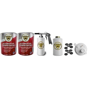 Woolwax  Auto & Truck Undercoating kit #2  Two Gallon Kit