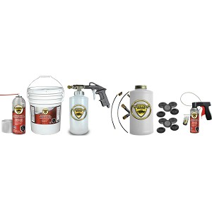 Woolwax  Auto & Truck Undercoating kit #3  (Five gallon pail).  with PRO spray Gun